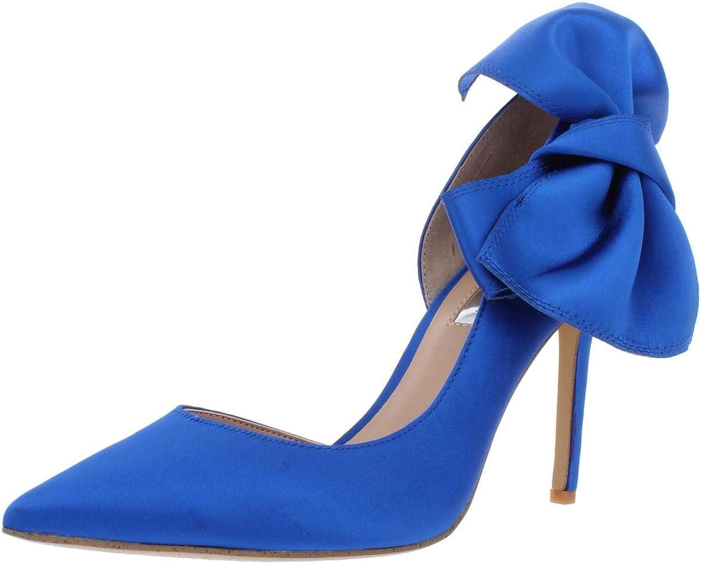 Inc Womens Kalea Satin Evening D'Orsay Heels