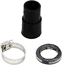 ReFaXi Exhaust Muffler Pipe Gasket Rubber Seal Clamp Parts for Yamaha Pee Wee50 PW50 PY50