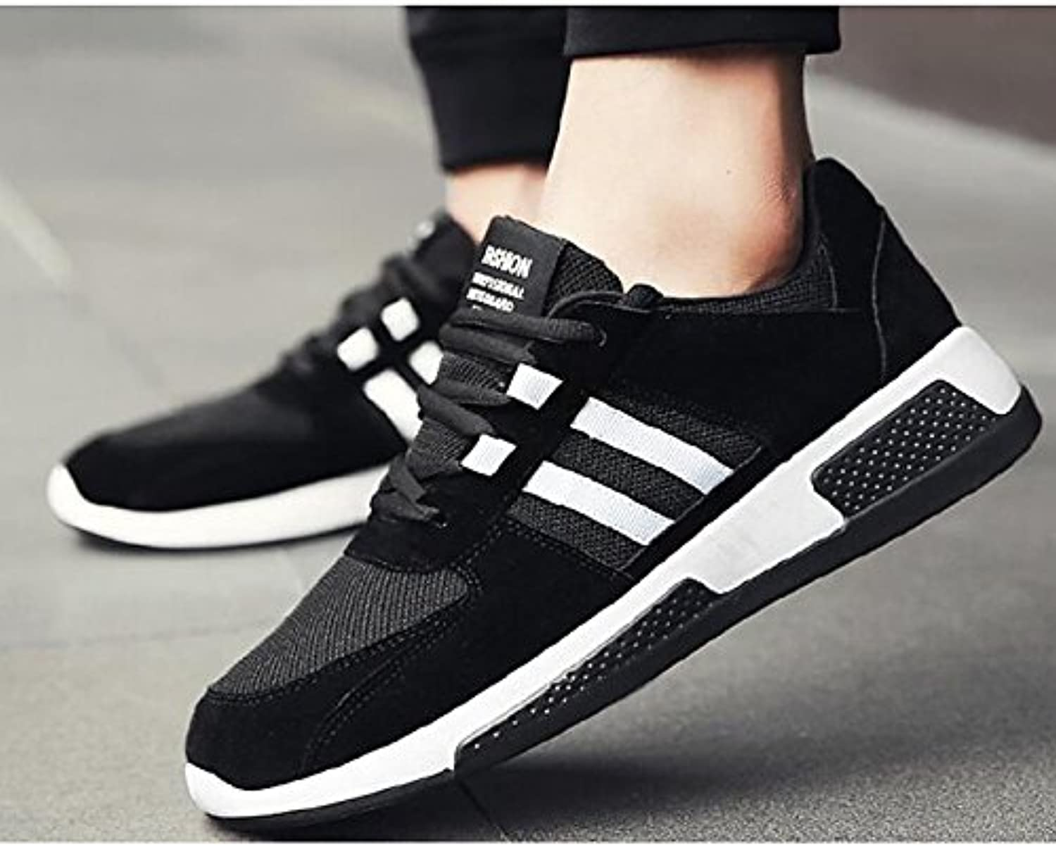 87a3f1c15fe75 DIMAOLV Men's shoes PU Spring Fall Comfort Sneakers for Casual ...