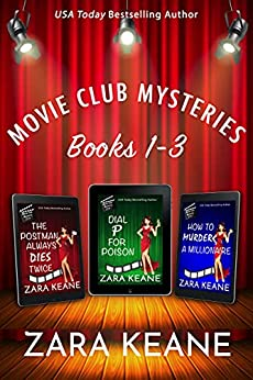 Movie Club Mysteries: Books 1-3 by [Zara Keane]