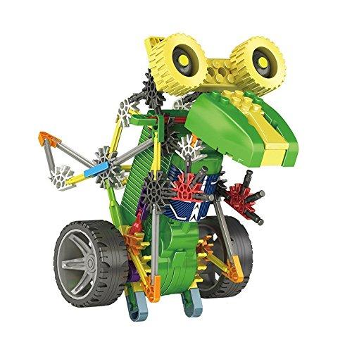 105 PCS Electronic Robot Building Toys Educational DIY Robotics for Kids - Battery Powered Robotic Kits