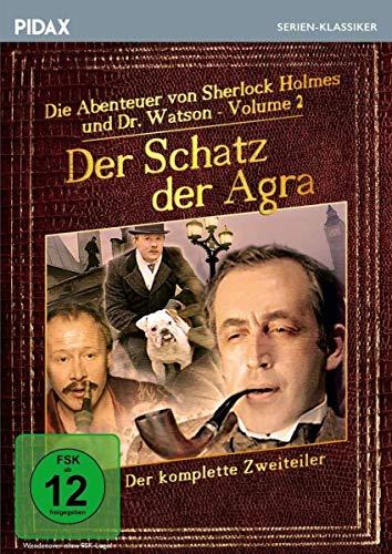 Sherlock Holmes: Der Schatz der Agra / Der komplette Zweiteiler der Romanverfilmungen DAS ZEICHEN DER VIER und EIN SKANDAL IN BÖHMEN (Pidax Serien-Klassiker) [2 DVDs] [Alemania]