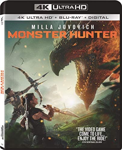 Monster Hunter [4K Ultra HD + Blu-ray + Digital]