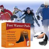 CBROSEY Chauffe Pieds,Pieds Chauds,Autocollant Chauffe,Instant Foot Toes Warmers pour...