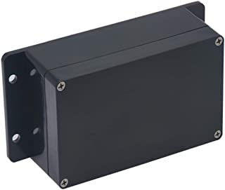 Raculety Project Box IP65 Waterproof Junction Box ABS Plastic Black Electrical Boxes DIY Electronic Project Case Power Enc...