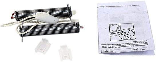 Bosch 12004119 Dishwasher Door Spring and Cable Set Genuine Original Equipment Manufacturer (OEM) Part