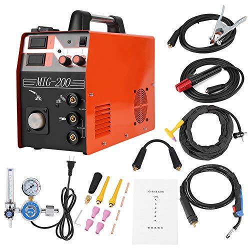 Kit de soldadora de alambre MIG, soldadora inverter MIG/TIG/ARC 3 en 1, máquina de...