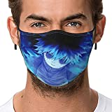 My Hero Academia-Dabi Anime Face Masks For Adults Child Reusable With Nose Wire