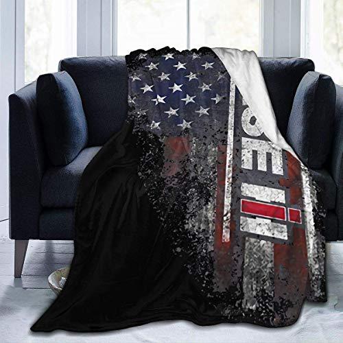 N \ A Case IH American Flag Case IH - Manta de forro polar ultrasuave