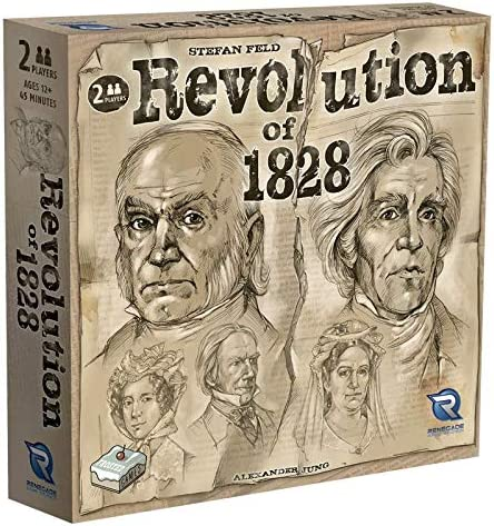 Renegade Game Studios Revolution of 1828 Board Game product image