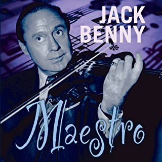 Jack Benny audiobook cover art