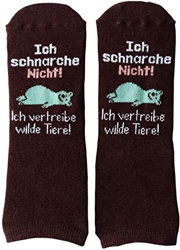 GRUSS und CO 45599 Socken, Baumwolle, Nylon, Elastan, Schwarz, Größe: 41-46