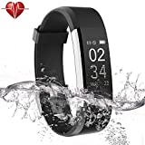 Ulvench Waterproof Fitness Tracker, Smart Watch for Calorie Counter Heart...