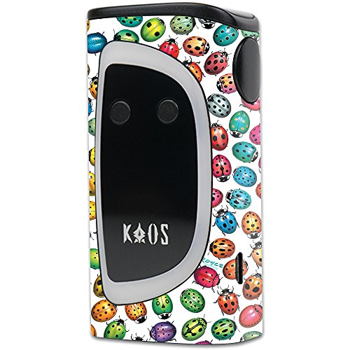 MightySkins Skin Compatible with Sigelei KAOS Spectrum Kit – Color Bugs | Protective, Durable, and Unique Vinyl Decal wrap Cover | Easy to Apply, Remove, and Change Styles | Made in The USA