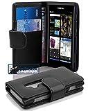 Cadorabo Book Case works with Nokia Lumia 800 in OXID BLACK