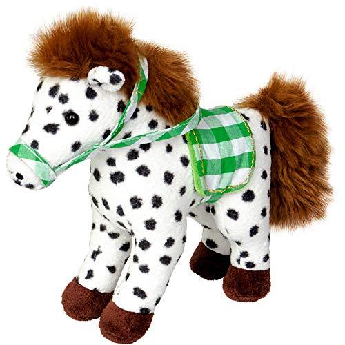 DIE SPIEGELBURG Pony mit Sattel ca.20cm (Pony Anton)