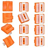 QincLing 12 Pcs/setPaper Cutter Replacement Cutting Bladeswith Automatic Security Safeguard Design...