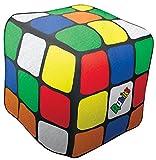 iscream Old School! Rubik's Cube Shaped 11' x 11' x 11' Microbead Accent Pillow