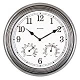 Chaney Instruments Tritan Metal Wall Clock