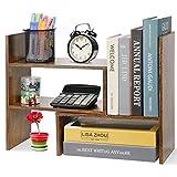 Hossejoy Estantería para libros, ajustable, estantería para libros, soporte...