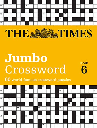 The Times 2 Jumbo Crossword Book 6: 60 large general-knowledge crossword puzzles