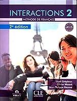 Interactions: Livre de l'eleve A1.2 avec audio en ligne - 2eme \edition