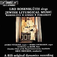 Jewish LitergicaMusic by Leo Rosenbluth (1989-11-28)