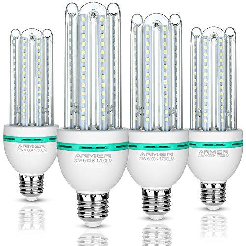 Ampoules LED E27, 20 W équivalent à 150 W, 1700 Lumen LED lampe, Blanc Froid(6000k), Non dimmable, Angle de Faisceau 360°, Non Dimmable, Lot de 4