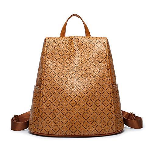 SONGXZ Frauen Rucksack New European and American Fashion Rucksack mit großer Kapazität Wild Backpack