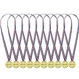 48 Packung Kunststoff Gewinner Medaillen Goldene Auszeichnungen für Kinder Sport Party, Wettbewerb