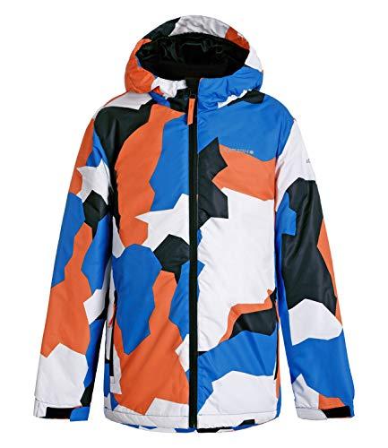 ICEPEAK Jungen Skijacke Schneejacke Winterjacke Kapuze Locke Jr 6-50 035 827, Farbe:Mehrfarbig, Größe:152, Artikel:-350 königsblau