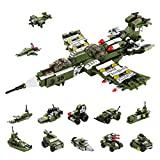 Milestar Boys STEM Building Toys 576 Pieces Combat Destroyer Fantastic Gift for Boys Girls Age 6 7 8 9 10+ Year Old 25-in-1 Models Creative Educational Engineering Building Kit
