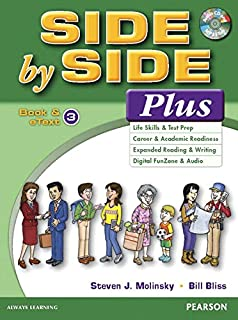 Value Pack: Side by Side Plus 3 Student Book and eText with Activity Workbook and Digital Audio