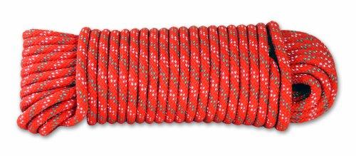 Chapuis DR62 Corda intrecciata in polipropilene - 450 kg - Diametro 6 mm - Lunghezza 15 m - Arancione