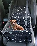 GoBuyer Waterproof Dog Car Seat Booster Car Booster Seat for Dogs