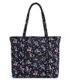Vera Bradley Iconic Vera Tote in Holiday Owls, Signature Cotton