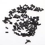 CooBigo (2.25mm) 60g/Pack(Approx450~500pcs) Ferrocerium Lighter Flint Stone for Petrol or Gas Lighters Accessories #FLQ178-B/G (Black)