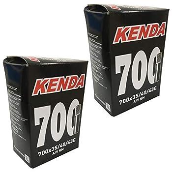 KENDA 700 x 35-43c Inner Tubes - Schrader Valve  Pack of 2