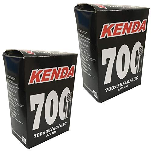 KENDA 700 x 35-43c Inner Tubes - Schrader Valve (Pack of 2)