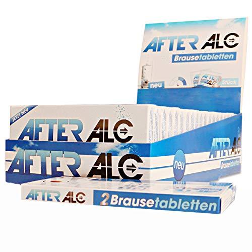 AfterAlc In stijlvol toondisplay (20 x 2 bruistabletten), voedingssupplementen met mineralen, vitaminen en cafeïne, uit je apotheek