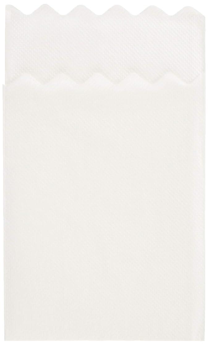 ノート比べる日没業務用 6つ折り紙ナプキン 山型 白無地 1000枚入