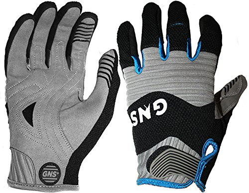 Great North Sports GNS Swerve and Protect - Premium Mountain Bike Gloves (MTB, Cycling, Trail) (Large)