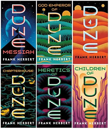 Complete Dune Series Set ( 6 Books )