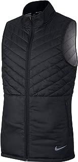 Men's AeroLayer Run Vest Black/Black/Atmosphere Grey S