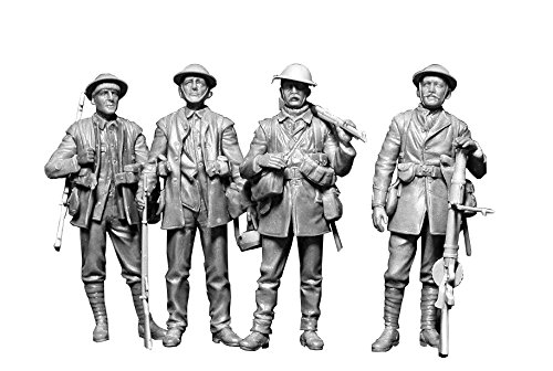 Master Box MB35146 - 1/35 British Infantry, Somme Battle Period, 1916