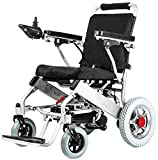 New Model 2019 Fold & Travel Lightweight Electric Wheelchair Motor Motorized...