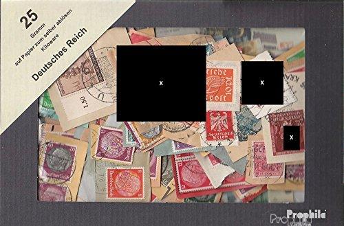 Prophila Collection Deutsches Reich 25 Gramm Kiloware (Briefmarken für Sammler)