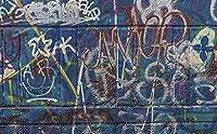 壁紙 壁の壁画 寝室の 400x280cm 壁のための壁紙 リビングルームの装飾 写真の壁画-レトロなグラフィティインダストリアルスタイル