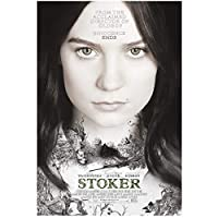 Weitaianstoker(2013)Mia Starring Wasikowska Movie Poster Canvas Print Painting Wall Art For Living Room Bedroom Decor -50X70Cm Unframed
