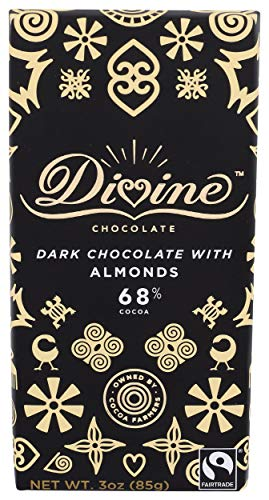 image of Divine Almond Dark Chocolate